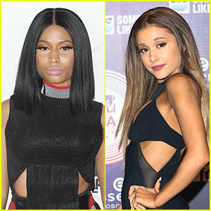 Nicki Minaj & Ariana Grande's 'Get on Your Knees' Hits the Web - Listen Now!