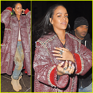 Rihanna's Muddy Jeans Shows She's Not Afraid to Get Down & Dirty!