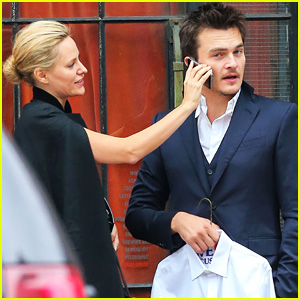 Homeland's Rupert Friend & New Fiancee Aimee Mullins Are Happy As Can Be in the Big Apple