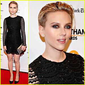 Scarlett Johansson Looks Amazing at Gotham Film Awards After News of Her Secret Wedding Breaks!