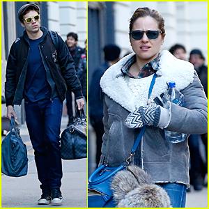 Sebastian Stan Had a 'Very Good Year' With Girlfriend Margarita Levieva
