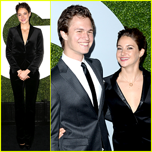 Shailene Woodley & Ansel Elgort Have a Red Carpet Reunion!