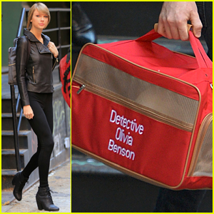 Taylor Swift Has the Best Cat Carrier for Olivia Benson!