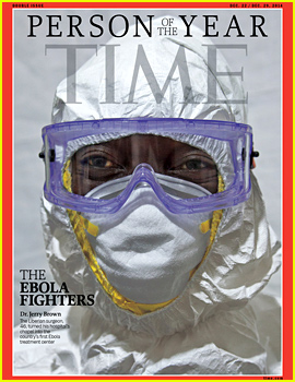 'Time' Magazine's Person of the Year 2014 is the Ebola Fighters in West Africa