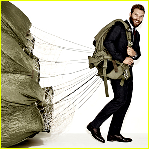 Unbroken's Jai Courtney Parachutes Away for 'Esquire' Mag