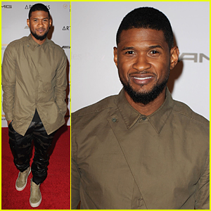 You'll Never Believe Where Usher Charged His iPhone at Art Basel