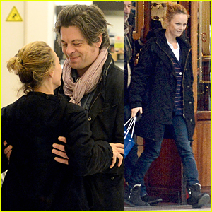 Vanessa Paradis Gets the Look of Love From Boyfriend Benjamin Biolay in Paris