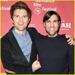 Adam Scott & Jason Schwartzman Go Full Frontal in 'Overnight'