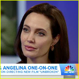 Angelina Jolie Says Battling Chickenpox Was 'So Absurd'