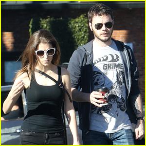 Anna Kendrick & Boyfriend Ben Richardson Spend Sunday Together