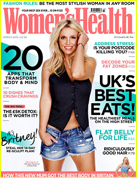Britney Spears Flaunts Her Figure on 'Women's Health UK' Cover!