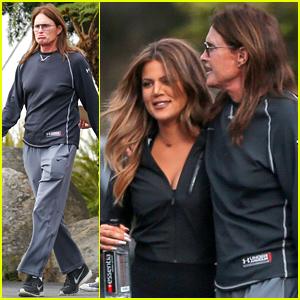 Bruce Jenner & Khloe Kardashian Have Father/Daughter Time Together!