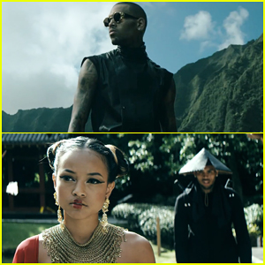 Chris Brown's 'Autumn Leaves' Video Features Karreuche Tran as a Geisha - Watch Here!