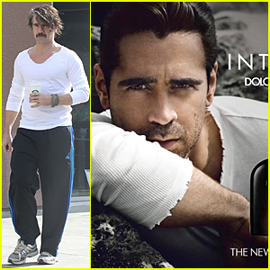 Colin Farrell Looks 'Intenso' For Dolce & Gabbana Fragrance Campaign Image