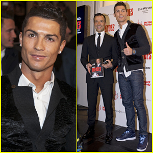 Cristiano Ronaldo Supports Sport Agent Jorge Mendes at His 'Key to Mendes' Book Presentation!