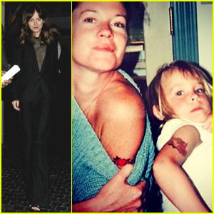 Dakota Johnson's Mom Melanie Griffith Shares Adorable 90s Throwback Photo!