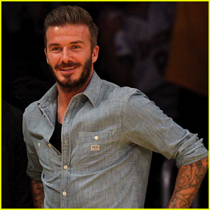 David Beckham Jokes He's Become an Uber Driver for His Kids