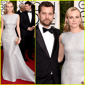 Diane Kruger & Joshua Jackson Are One Hot Couple at the Golden Globes 2015!