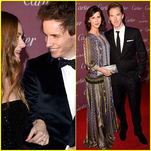 Eddie Redmayne & Benedict Cumberbatch Are English Gentlemen at Palm Springs Fest