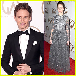 Eddie Redmayne & Felicity Jones Are Perfect 'Theory of Everything' Co-Stars at PGA Awards 2015