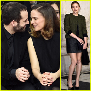 Natalie Portman & Husband Benjamin Millepied Share the Cutest Moment in Paris