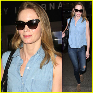 Emily Blunt Returns to...