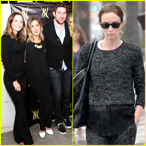 Emily Blunt Catches the Flu Days Before the Golden Globes