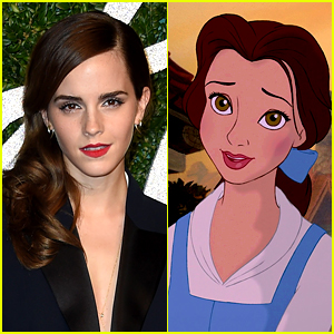 Emma Watson Cast as Belle in Live Action 'Beauty & The Beast'!