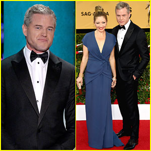Eric Dane is One Silver Fox at SAG Awards 2015