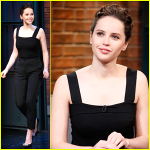 Felicity Jones Talks About Her Very Nerve-Wracking Oscar Nominations Morning on 'Late Night'!
