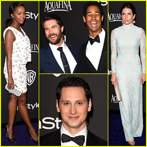 2015 january just jared page 192 how to get away with murder cast takes on golden globes monday january 12th 2015 ccuart Image collections