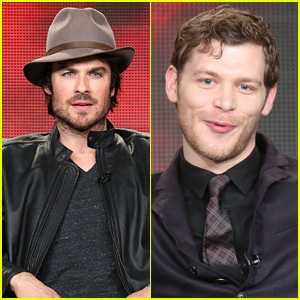 Ian Somerhalder Hits TCA as 'Vampire Diaries' & Seven More Shows Receive Another Season From The CW