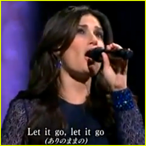 Idina Menzel Hits the 'Let it Go' High Note for Japan on NYE!