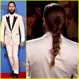 Jared Leto's Braid Was the Golden Globes' Big Hair Moment!
