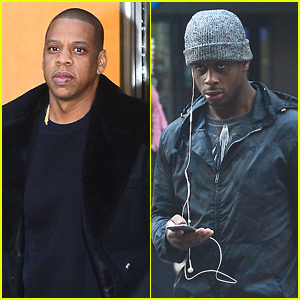 Jay Z Meets with His Client, NY Jets Quarterback Geno Smith