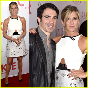 Jennifer Aniston Premieres 'Cake' While Waiting for Oscar Noms