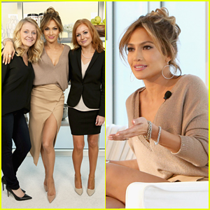 Jennifer Lopez Launches Her BodyLab Movement Ahead Of 'American Idol' Season 14 Premiere!