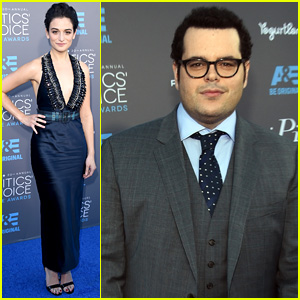 Jenny Slate & Josh Gad Hit Up the Critics' Choice Awards 2015