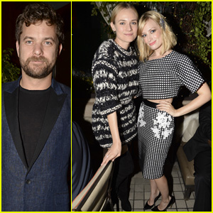 Joshua Jackson & Diane Kruger Hit Up Anonymous Content's Pre-Golden Globes 2015 Bash