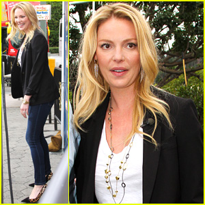 Katherine Heigl Talks About Filming Topless Scene on 'Conan'