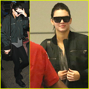 Kendall Jenner Looks Fresh & Ready to Go at the Start of 2015