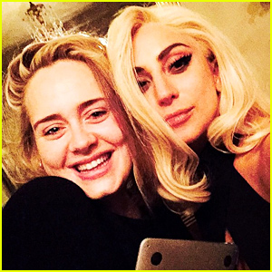 Lady Gaga & Adele Snap a Selfie, Spark Rumors of a Collaboration!