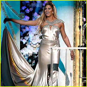 Laverne Cox Had the Best SAG Awards Stage Entrance