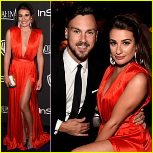 Lea Michele Brought Boyfriend Matthew Paetz to the Golden Globes After Party!