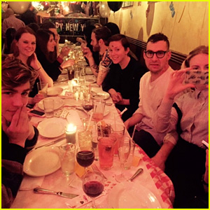 Lena Dunham Parties with Parenthood's Mae Whitman & Miles Heizer for New Year's Eve
