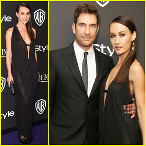 Maggie Q & Boyfriend Dylan McDermott Heat Up InStyle's Golden Globes 2015 After Party!