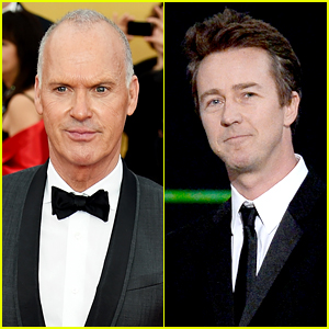 Michael Keaton & Edward Norton Rep 'Birdman' at SAG Awards!