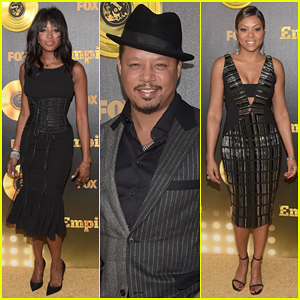 Naomi Campbell & Taraji P. Henson Put On Their Best for 'Empire' Hollywood Premiere!