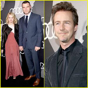 Naomi Watts & Liev Schreiber Make It a Date Night at Pre-Golden Globes Party 2015