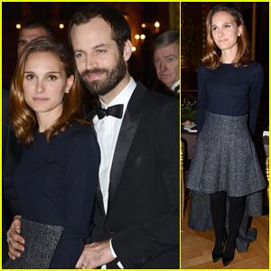 Natalie Portman Supports Hubby Benjamin Millepied at Weizmann Institute 40th Anniversary Celebration!